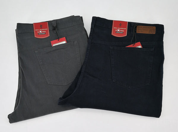 Pantalone uomo over stretch