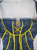 top jeans stretch