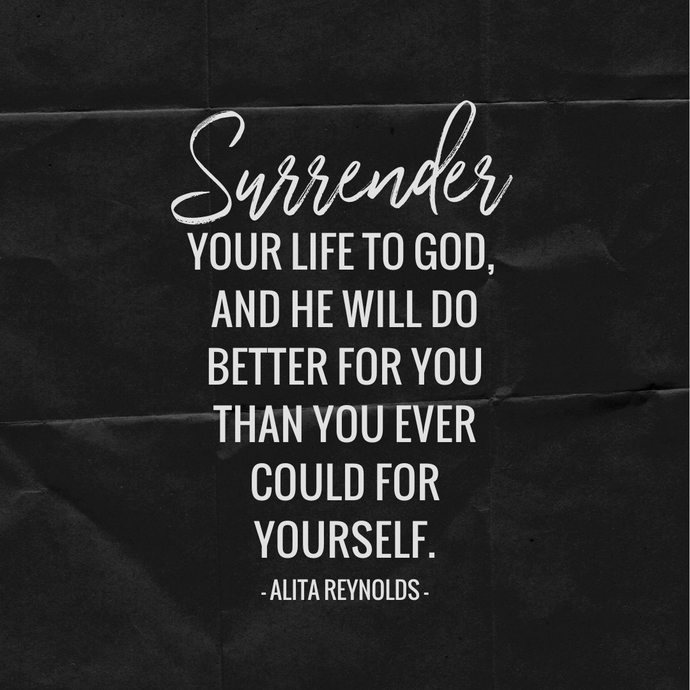 SURRENDER YOUR...
