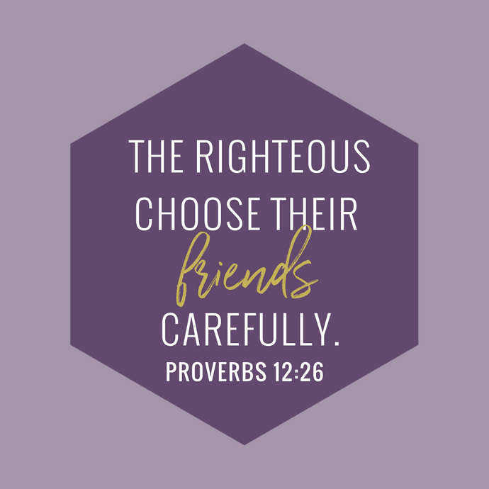 THE RIGHTEOUS CHOOSE...