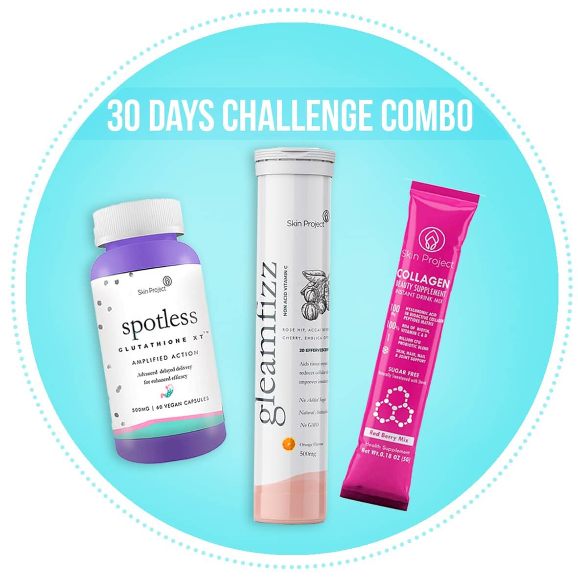 30 days Challenge Combo pack - Skin Project®