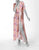 UPF 50+ Pure Silk - Ash Pink Mushroom Dress