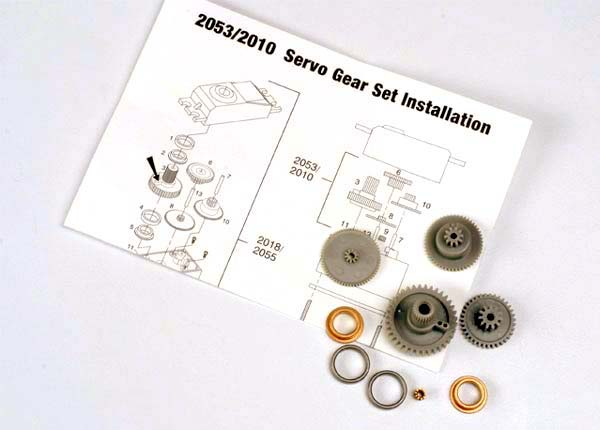 2053 GEAR SET SERVO HIGH-TORQUE