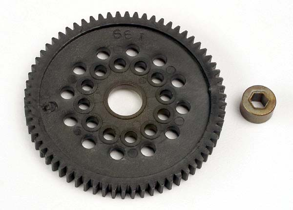 3166 SPUR GEAR 66-T 32-P/BUSIHING