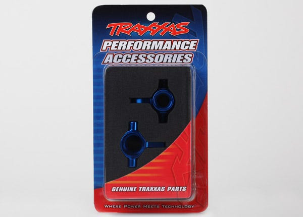 6439 STEERING BLOCK ALUMINUM BLUE
