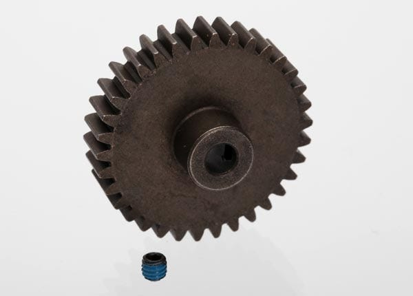 6493 PINION GEAR 34-T 1 mod, 5mm shaft