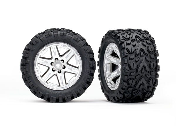 6773R Tires & wheels RXT STN CHRM/TALON EXT TSM