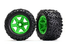 Load image into Gallery viewer, 8672 Tires & wheels, assembled, E-Revo Talon EXT