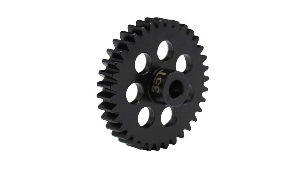 34T Steel Mod 1 Pinion Gear, 5mm (HRANSG35M1)