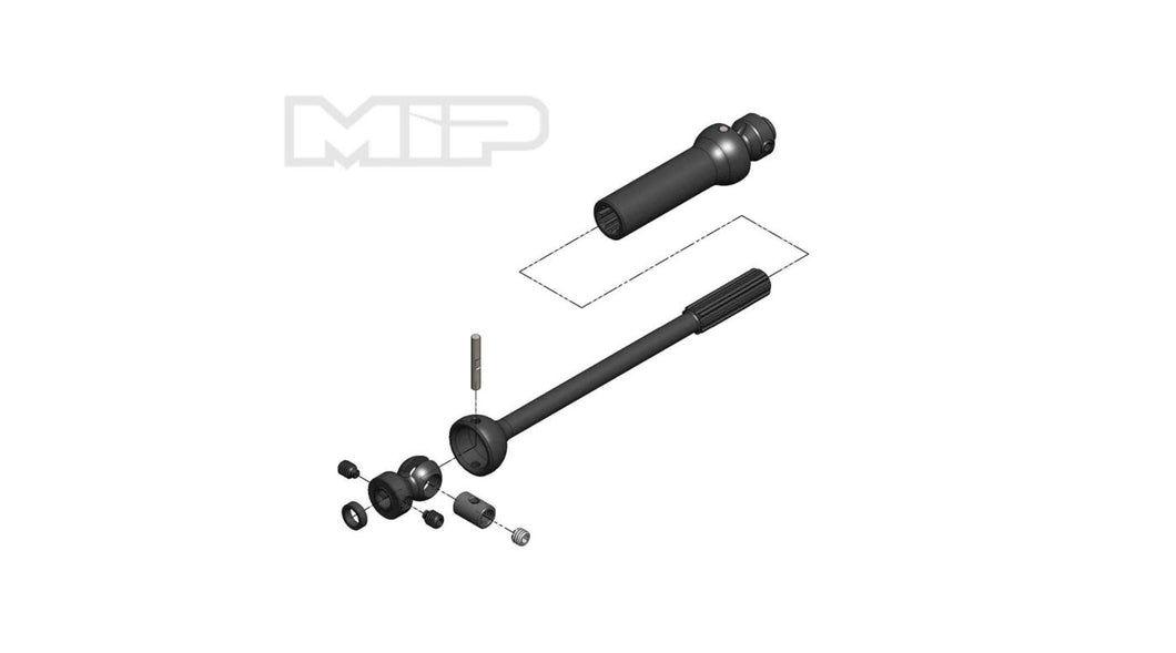 Center Drive Kit Single Shaft 140mm - 165mm with 5mm Hubs (MIP18170)