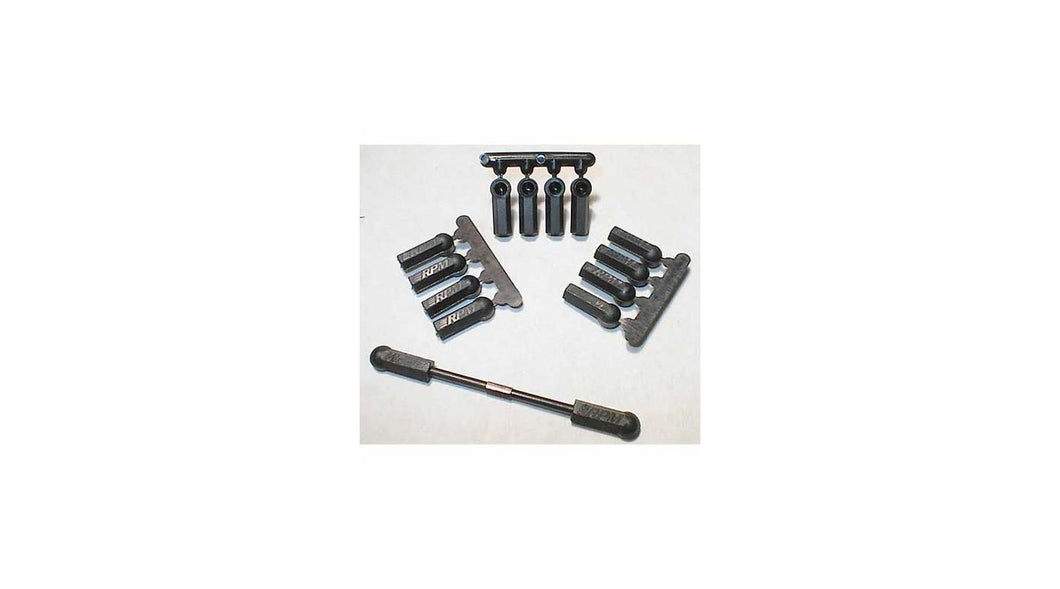 4-40 HD Rod Ends,Blk:LOS,ASC (RPM73372)