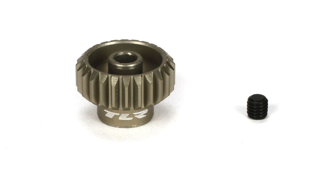 TLR 48P Aluminum Pinion Gear, 24T (TLR332024)