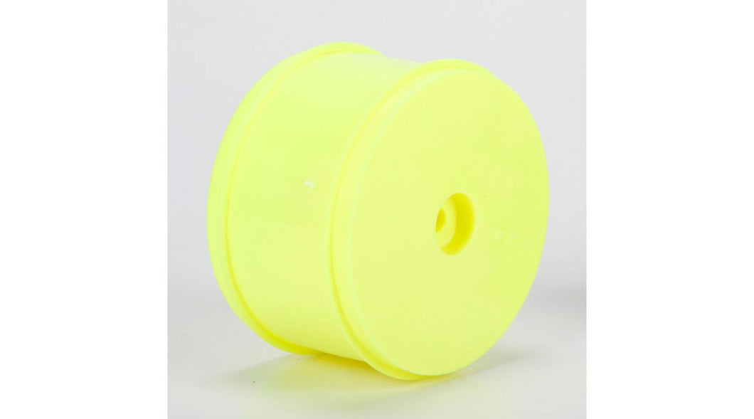 61mm Rear Wheel, 12mm Hex, Yellow (2): 22/22-4