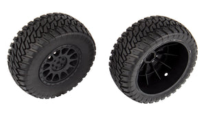 Multi-terrain Tires and Method Wheels mounted (ASC71044)