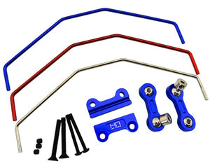 HRAXMX311X06 Aluminum Sway Bar, Front or Rear, for X-Maxx