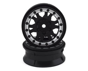 "Pro-Line Impulse 1.9"" Bead-Loc Wheels (Black/Silver)"