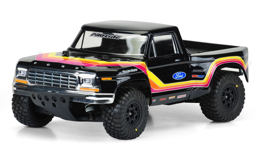 1979 Ford F-150 Race Truck Clear Body, for Traxxas Slash 2WD, Slash 4x4