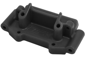 Black Front Bulkhead for Traxxas 1/10 2WD Vehicles