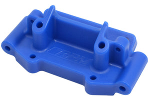 Blue Front Bulkhead for Traxxas 1/10 2WD Vehicles
