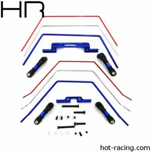 Front and Rear Wide Sway Bar Kit: 2wd Slash