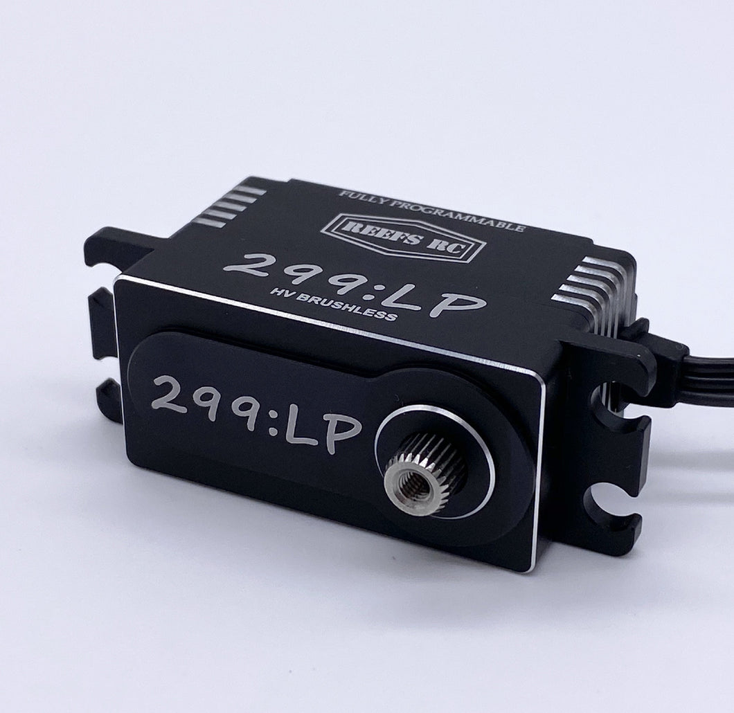 299LP High Speed High Torque Low Profile Brushless Servo .0.57/313 @8.4V