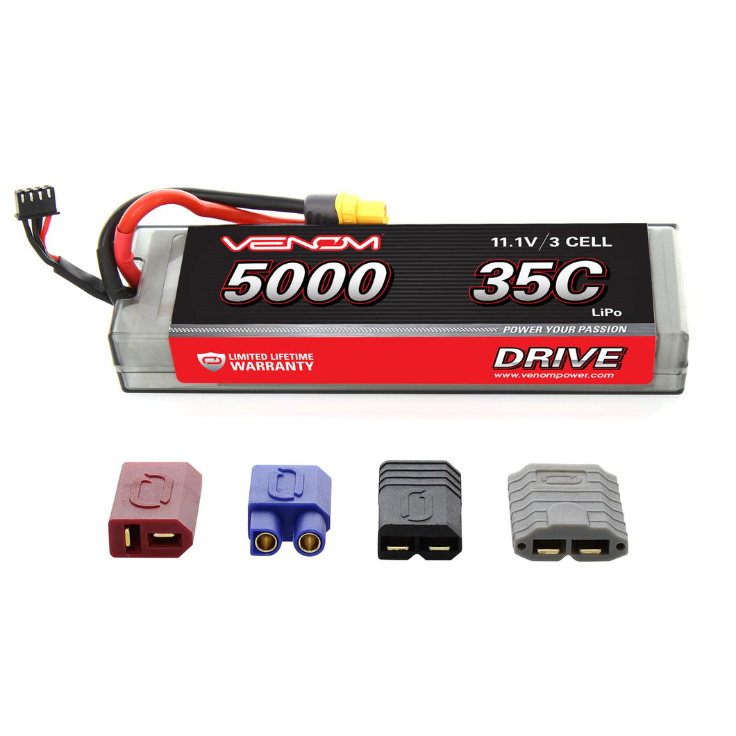 DRIVE 35C 3S 5000mAh 11.1V LiPo Hardcase Battery with UNI 2.0 Plug