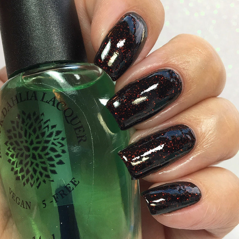 Strickly Sticky Base Coat - Black Dahlia Lacquer