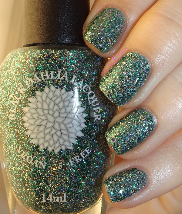Bells of Ireland - Black Dahlia Lacquer