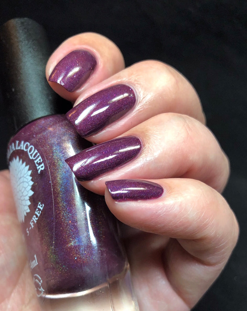 Berry Birthday - Black Dahlia Lacquer