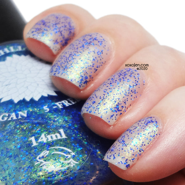 Save the Ocean - Black Dahlia Lacquer