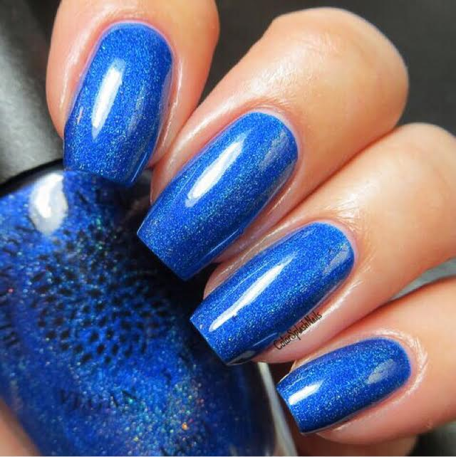 Blue Ginger - Black Dahlia Lacquer