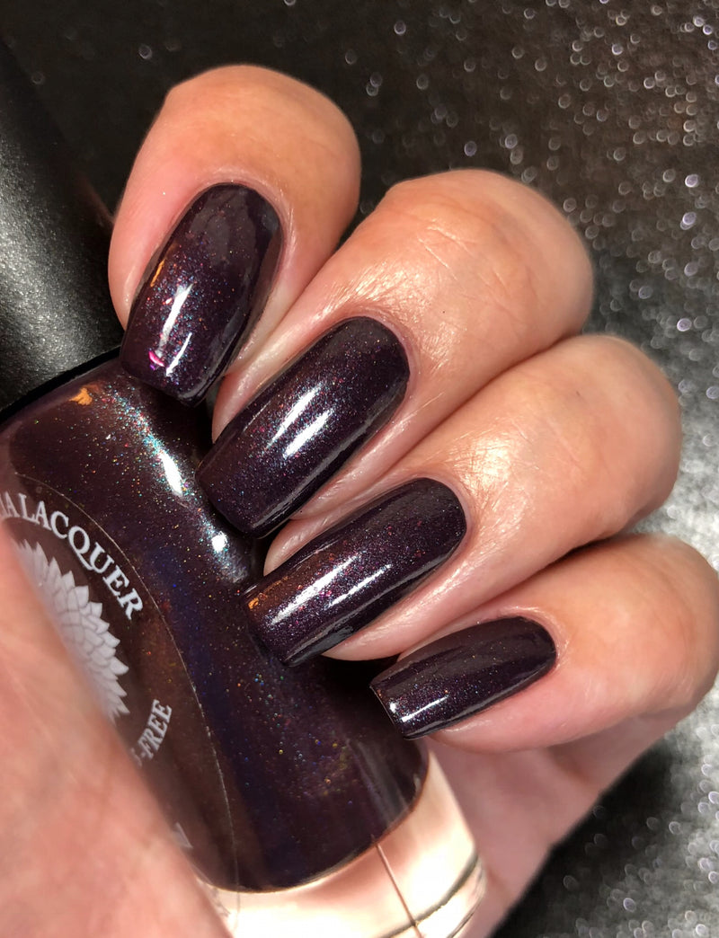Full Moon - Black Dahlia Lacquer