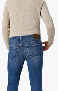 34 Heritage Cool Slim Leg Jeans in Mid Shaded Ultra
