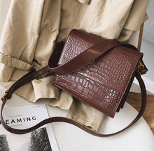 Load image into Gallery viewer, Fashion PU Leather Handbag
