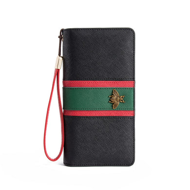 Wallet Leather Bee