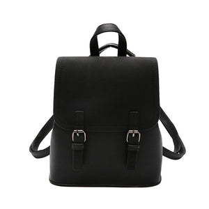 Shoulder Solid Backpack