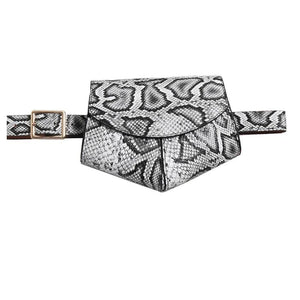 Serpentine Waist Belt Bag