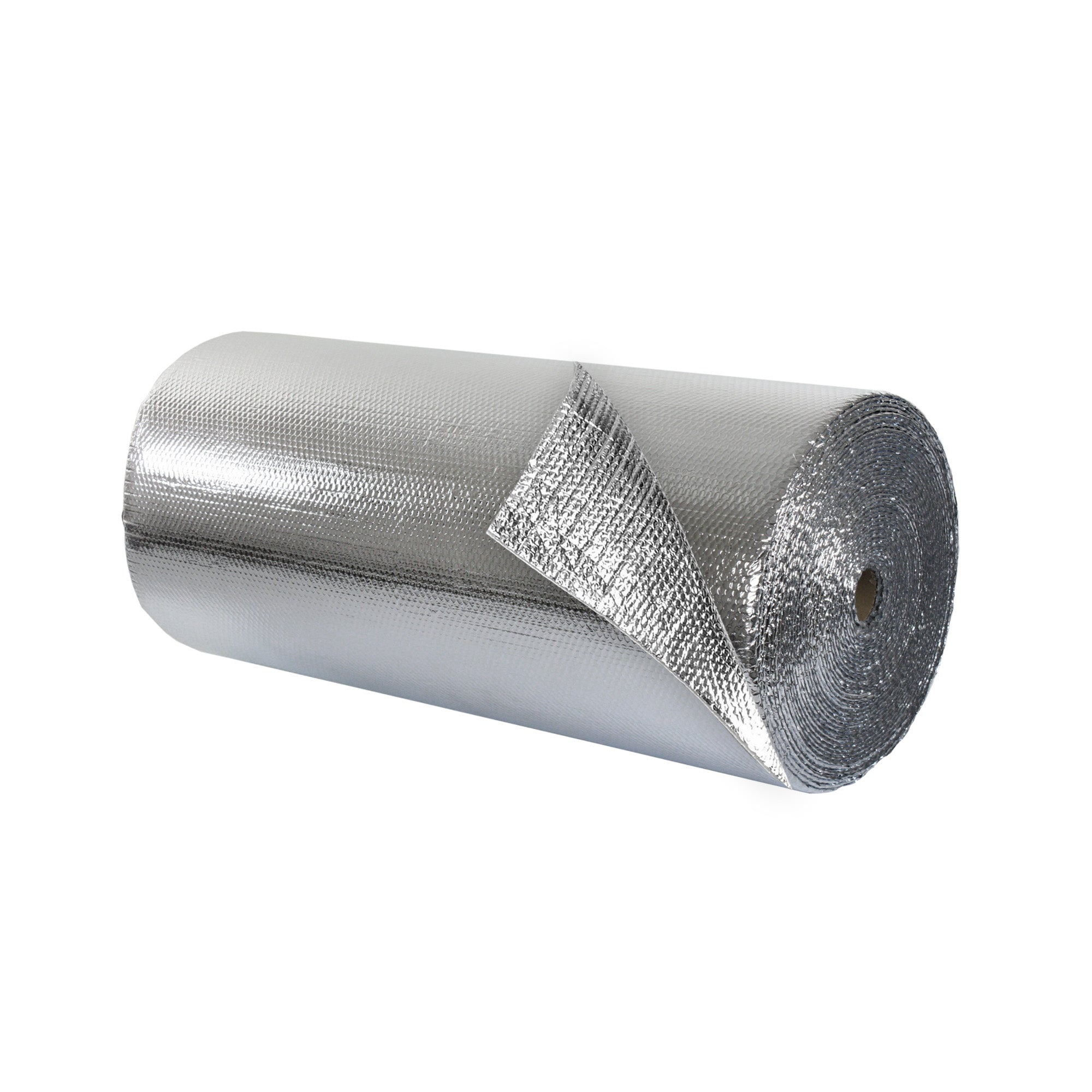 Double Bubble Insulation Foil_Foil 4 foot x 125 foot 500 sq ft