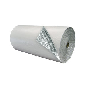 Double Bubble Insulation White_Foil 4 foot X 125 foot 500 sq ft