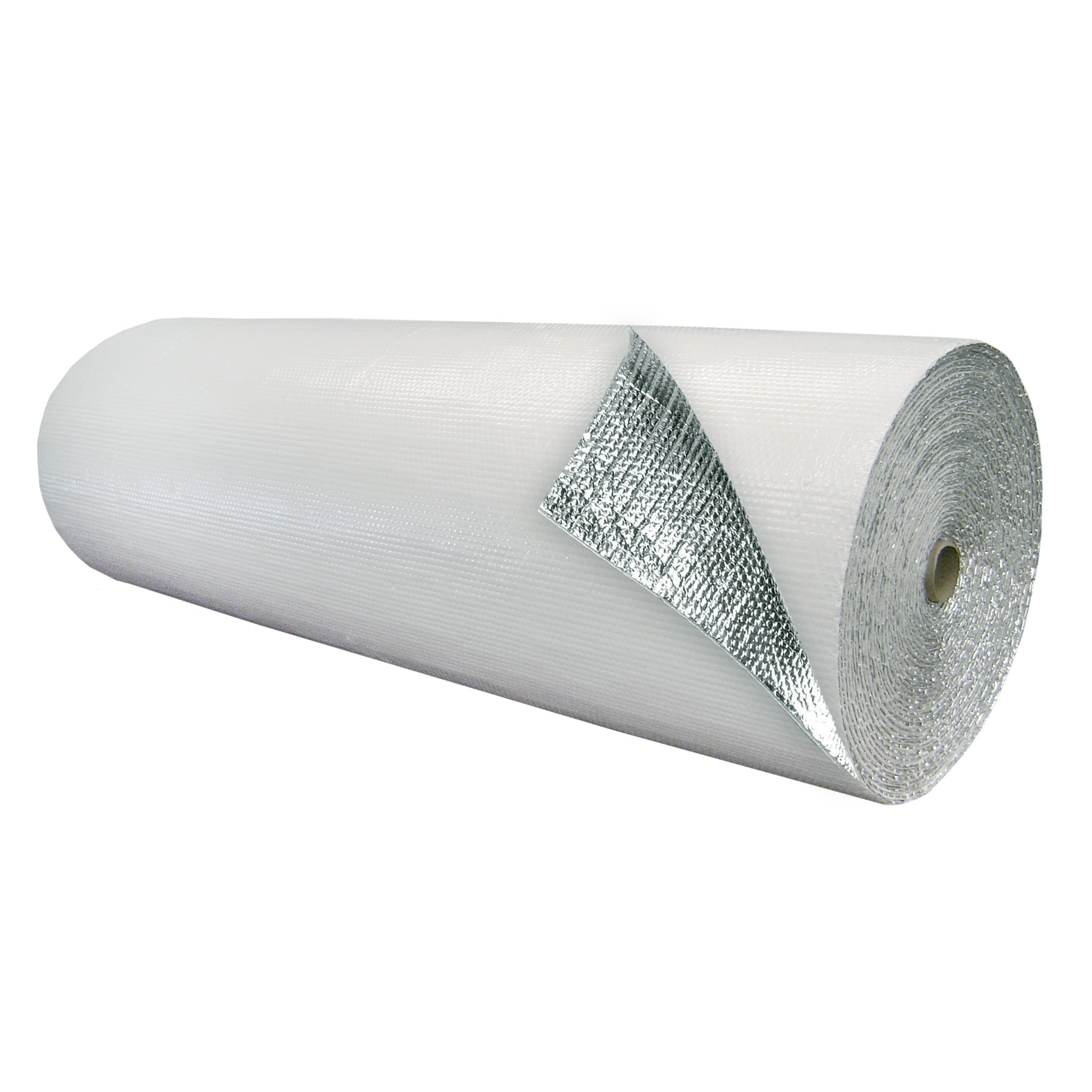 Double Bubble Insulation White_Foil 6 foot X 125 foot 750 sq ft