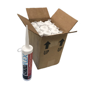 Ecofoil High-Tack Clear Silicone Insulation Adhesive By NovaFlex - Pkg 12