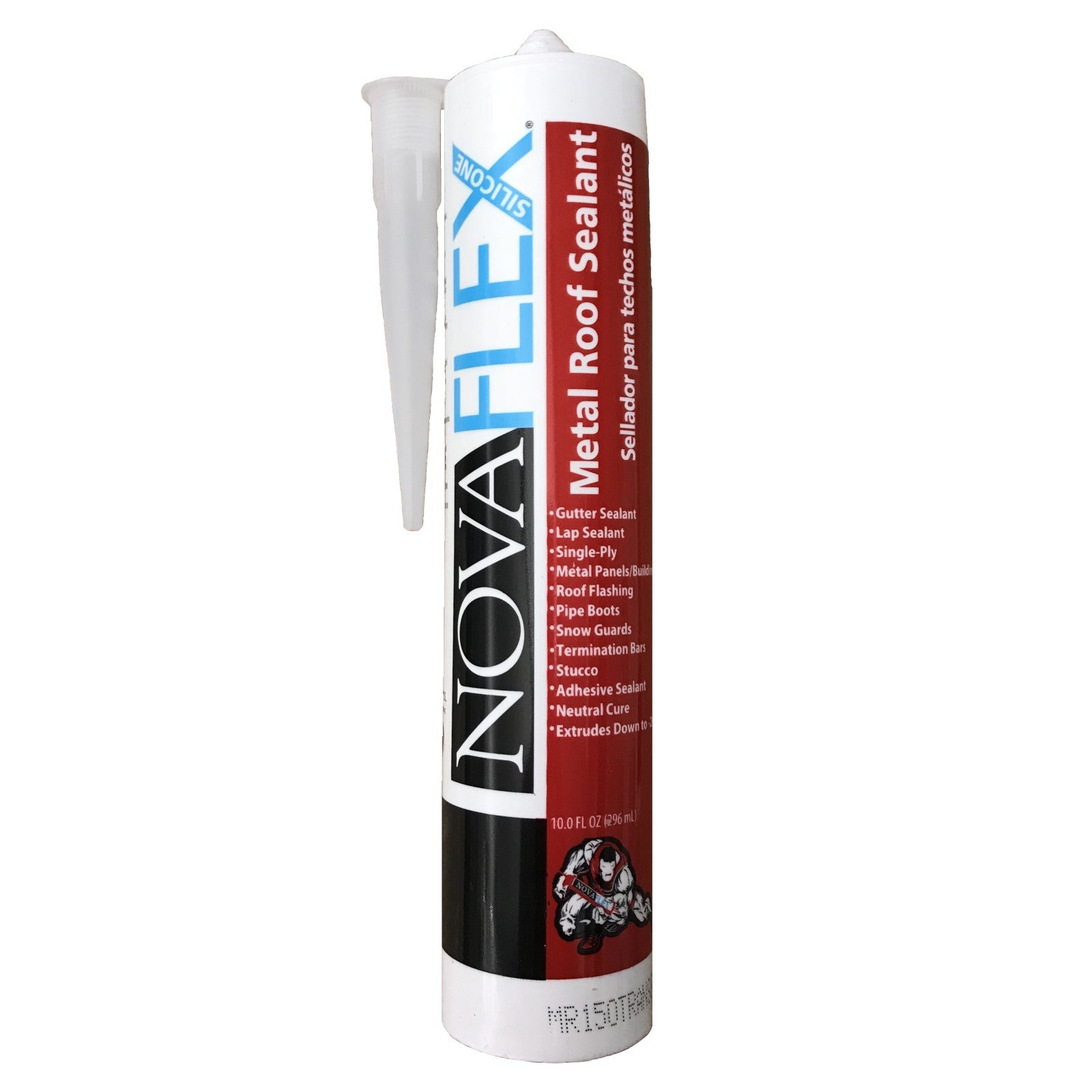 NovaFlex Clear Silicone Metal Roof Sealant