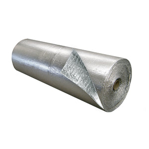 Single Bubble Insulation Foil_Foil 4 foot x 125 foot 500 sq ft