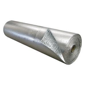Single Bubble Insulation Foil_Foil 6 foot x 125 foot 750 sq ft