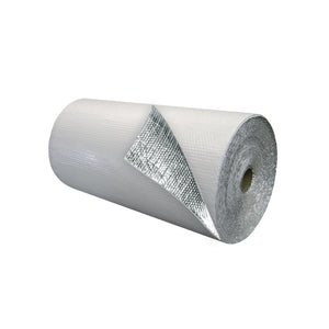 Single Bubble Insulation White_Foil 3 foot X 125 foot 375 sq ft