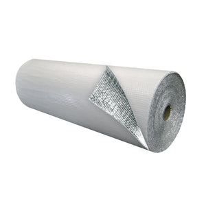 Single Bubble Insulation White_Foil 4 foot X 125 foot 500 sq ft