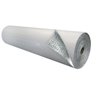 Single Bubble Insulation White_Foil 6 foot X 125 foot 750 sq ft