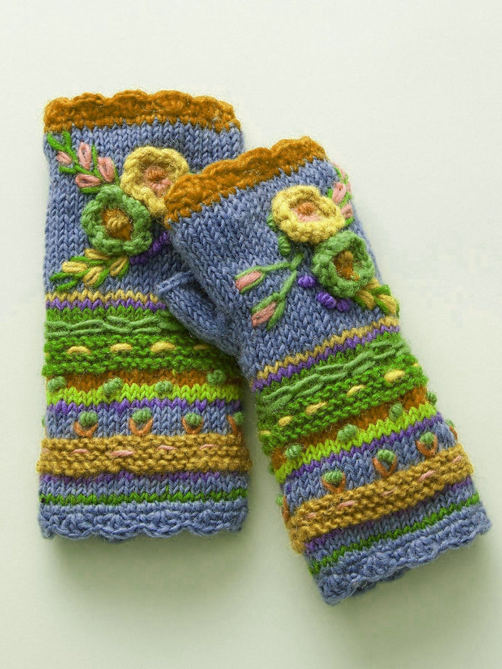 Casual Knit Gloves Handwarmers