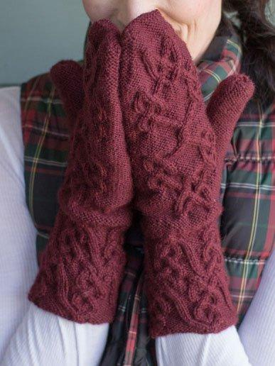 Red Elegant Gloves & Mittens