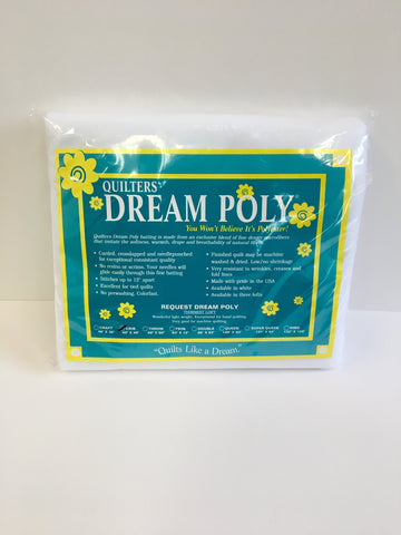 Quilters Dream Poly Request Batting Craft 36x46in